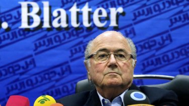 """We are starting the consultations to bring it to the winter time"": FIFA president Sepp Blatter."