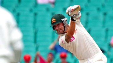 Michael Clarke is seven runs shy of his first triple century in Test cricket at the lunch break.