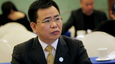Lin Chunping attends a meeting in May after being given a key political advisory role with the Chinese government.