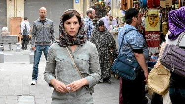 Claire Danes stars in <i>Homeland</i>.
