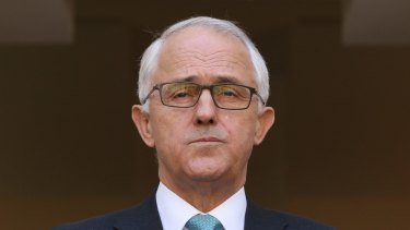Malcolm Turnbull has buckled to pressure from the right over 18C.