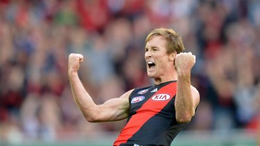 Jason Winderlich was heading for Richmond before deciding to play on at Essendon.