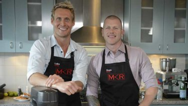 All smiles ... <i>My Kitchen Rules</i>
