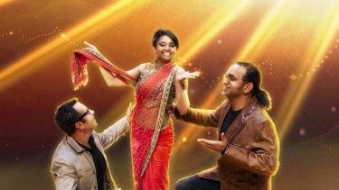 Lights, camera, action … judges Raj Suri , Dipti Patil and Anupam Sharma.