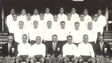 Back then ... the 1961 Fijian team in Australia.