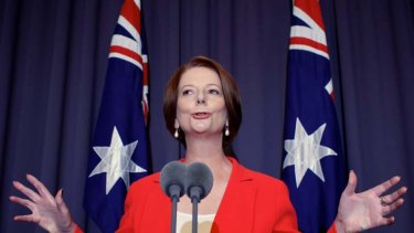 ''I intend to be a very forceful advocate of the government's policies, so settle in.'' … Julia Gillard addressing the media after the ballot yesterday.
