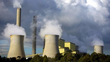 The Loy Yang Power Station.