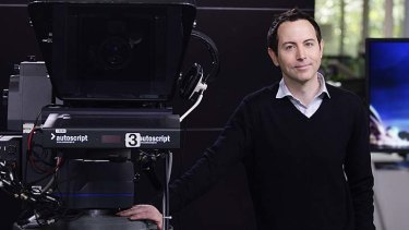 Moving on: Adam Boland says he has lost his passion for television.