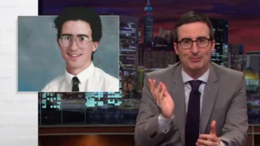 Some teens choose abstinence. Some have it thrust upon them, John Oliver explains.