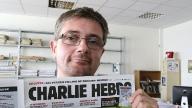 Stephane Charbonnier, former publishing director of <i>Charlie Hebdo</i>, was among the 12 killed by two gunmen at the satirical weekly's office.