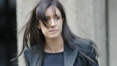 Gangland lawyer ... Simon's former girlfriend Zarah Garde-Wilson.
