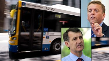Brisbane City Council to consult community after taking over bus route review, Lord Mayor Graham Quirk announces.