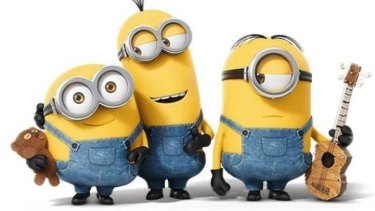 Plenty to say: the Minions at the centre of the controversy.