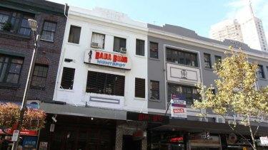 Shot in the shoulder ... the Bada Bing strip club in Kings Cross.