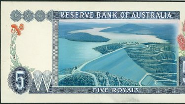 The five royal note, bedecked with native flowers and dams on the Snowy River.