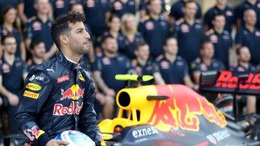 'Time to unlock the hidden honey badger': Daniel Ricciardo.
