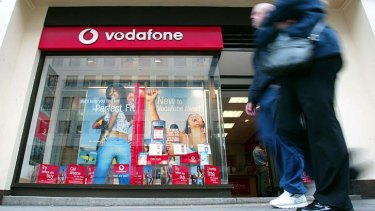 Tactics: Vodafone is pushing to get rent cuts for its shops.