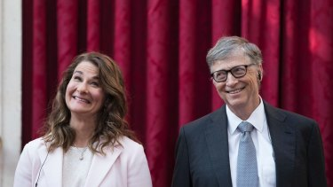 Bill and Melinda Gates direct their philanthropic efforts through their foundation.
