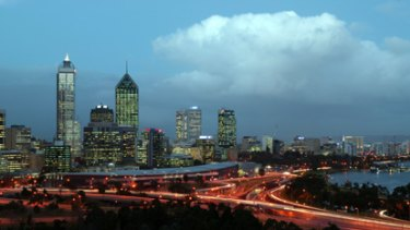 Perth had one of its coldest nights of the year with temperatures dropping to 3 degrees.