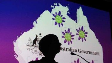 Calling for unity... Julia Gillard.