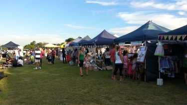Kyilla Community Farmers Market opens every Saturday on council land near the local school.