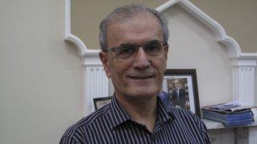 Kirkuk's Governor Najmadin Karim.