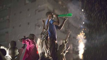 Pre-independence celebrations in South Sudan.