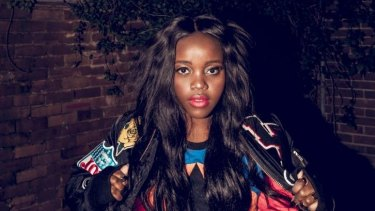 Adelaide-born Tkay Maidza was a popular choice in her hometown.