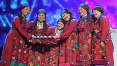 Russia's singing 'babushki' from 2012's contest.