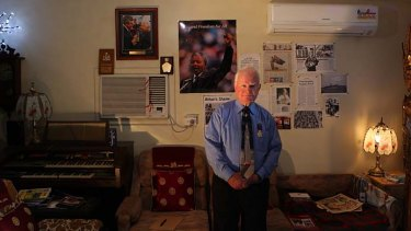 John Hennessy, at home, was only a boy when he was sent to Australia, where he was a victim of abuse.
