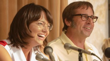 Tennis greats Billie Jean King (Emma Stone) and Bobby Riggs (Steve Carell) take the fight for gender equality onto centre court in a cultural examination that resonates today.