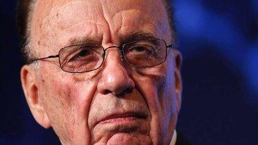 """Rupert Murdoch ... """"weird cult""""."""