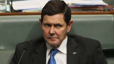 Kevin Andrews: Keen to steer people away from welfare dependence.