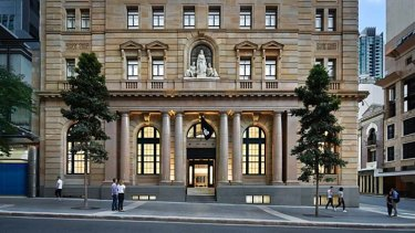 The Macarthur Chambers building will host the Apple's flagship Brisbane store.