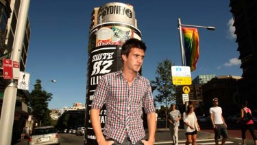 ''No idea what to do'' ... William Field, a youth worker, was beaten and abused at school for being gay. A new program aims to improve attitudes towards gay students.