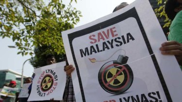 There are environmental and safety conditions that the Lynas Corporation's refinery has to meet before it can operate.