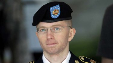 """A """"funny little character"""": Whistleblower Bradley Manning."""
