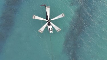CFA's aerial campaign against the fires raging in the Otways along the Victoria's surf coast. Photos: Ned Dawson/CFA