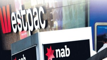 NAB and Westpac are the first of the big four banks to be caught in the corporate regulator's crackdown on company ads and promotions.