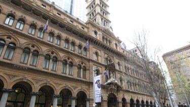 The Sydney GPO in Martin Place.