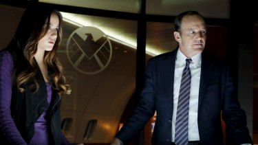Breakout: Clark Gregg's agent Phil Coulson (right) is the link between Marvel's cinematic and television universes.