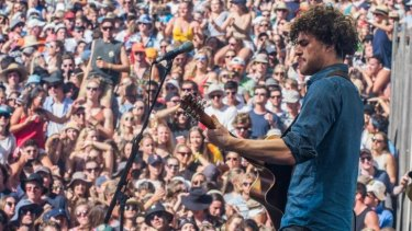 Joy to the world: Vance Joy is about to reach an even bigger audience supporting Taylor Swift on her global tour.