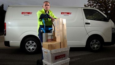 Driving down postal service costs: Australia Post is said to be deliberately turning a blind eye to contractors employing overseas workers on visas.
