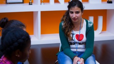 Nataly Ayyad plans to start an e-commerce site when back home.