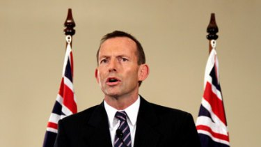 Tony Abbott launches the opposition's campaign in Brisbane.