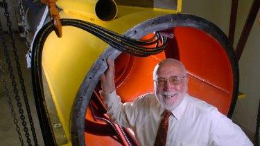 Ocean Power Technologies founder, Australian inventor George Taylor.