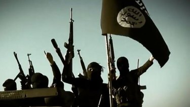 Islamic State militants.