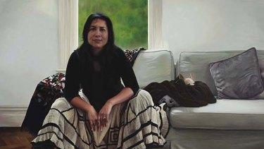 Finalist ... Christine O'Hagan's portrait of Kate Ceberano.