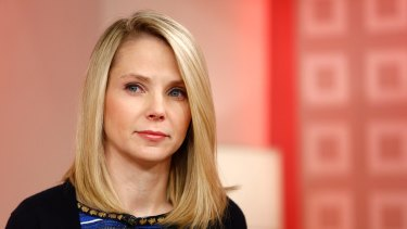 Grossly overpaid? Yahoo chief Marissa Mayer has been in the firing line over the web company's performance.