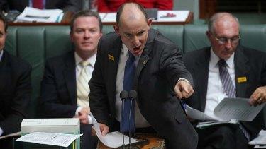 Liberal MP Stuart Robert.